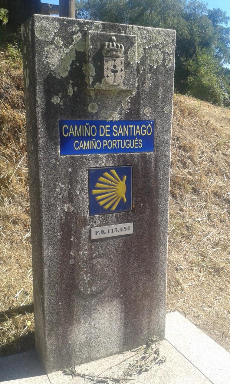 cammino portoghese anno 2015