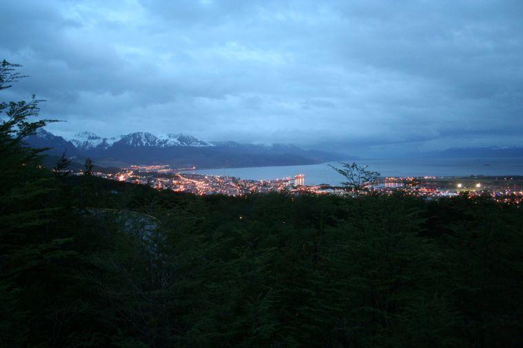 foto vista dall'alto Ushuaia 7