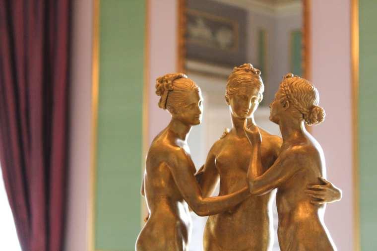 Amalienborg - ori nella Sala degli Appartamenti